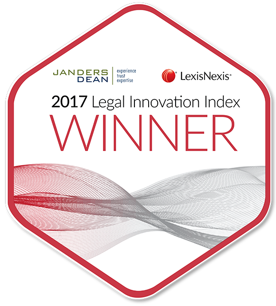 2017 Legal Innovation Index_Badge_WINNER_Matthew Robinson_FCB Group